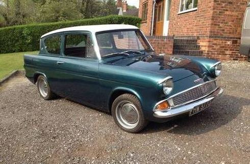 1966 Zetec Powered Anglia. £15k