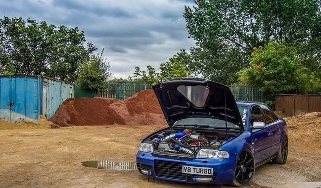 2000 Audi S4 V8  800bhp! Auction | UK's coolest used cars