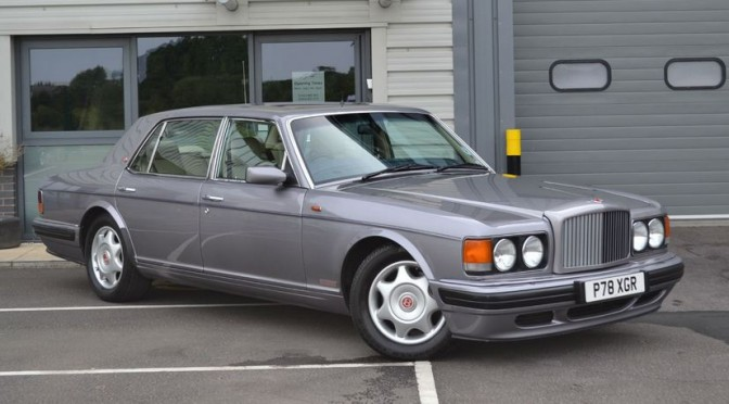 1997 Bentley Turbo R. £14k