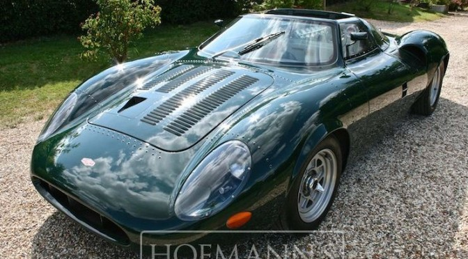 2013 XJ13 Jaguar Recreation. £130k